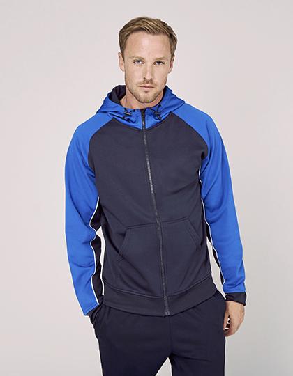 Panelled Sports Hoodie